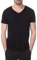 ATM Anthony Thomas Melillo ATM Classic Jersey Slim Fit V Neck Tee