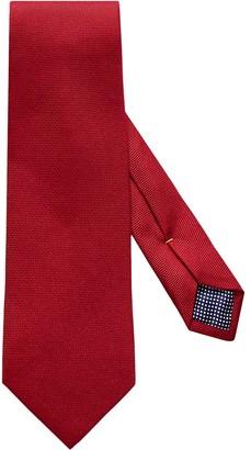 Eton Red Basket Weave Tie