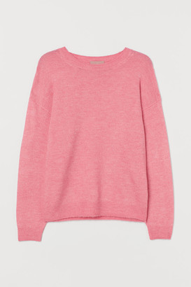 H&M H&M+ Fine-knit Sweater - Pink