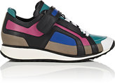 Pierre Hardy WOMEN'S COLORBLOCKED LEATHER LOW-TOP SNEAKERS-PINK SIZE 10