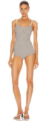Jil Sander Underwear Set in Light Pastel Grey | FWRD