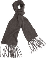 One Kings Lane Cashmere-Blend Waterweave Scarf, Gray