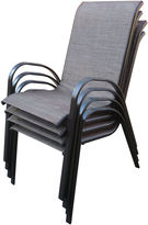 OUTDOOR OASIS Outdoor OasisTM Set of 4 Andora Sling Chairs