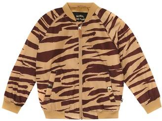 Mini Rodini Tiger-printed bomber jacket