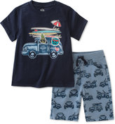 Kids Headquarters 2-Pc. Graphic-Print T-Shirt & Shorts Set, Baby Boys (0-24 months)