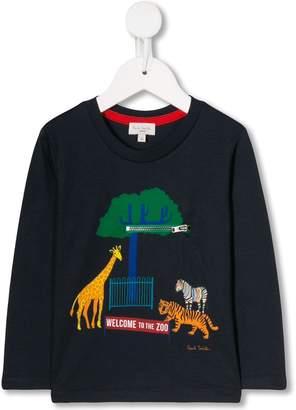 Paul Smith Zoo graphic top