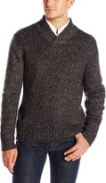 Axist Men's Crossover Collar Long Sleeve Sweater