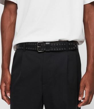 AllSaints Jace Leather Belt