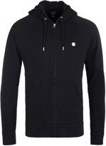 Pretty Green Oxted Black Hooded Sweatshirt