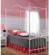 Hillsdale Emily Full Canopy Bed Set with Rails