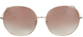 Oliver Peoples Darlen Oversized Round Sunglasses