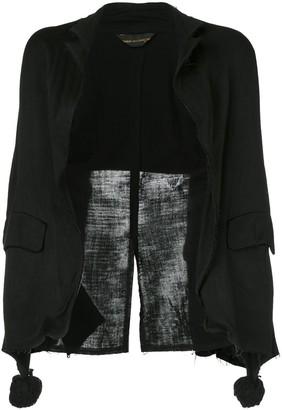 Comme Des Garçons Pre Owned Raw Edges Jacket