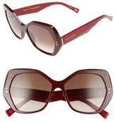 Marc Jacobs Women's 56Mm Sunglasses - Burgundy