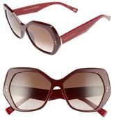 Marc Jacobs Women's 56Mm Sunglasses - Burgundy