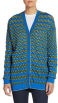M Missoni Zig Zag-Striped Cardigan
