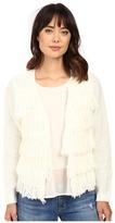 Brigitte Bailey Dharma Fringed Sweater