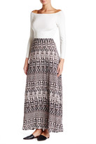 Joie Gamille Print Maxi Skirt
