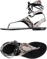KENDALL + KYLIE Toe strap sandals - Item 11131552