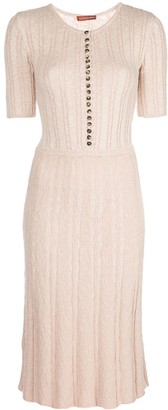 Altuzarra Cassidie knitted dress