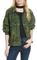 Free People Women's Slouchy Military Jacket