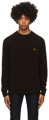 Etro Brown Wool Knit Sweater