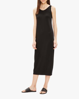 Eileen Fisher Scoop Neck F/L Dress