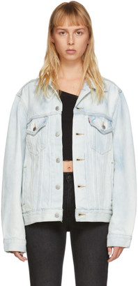 Levi's Levis Blue Vintage Fit Trucker Jacket