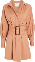 C/Meo Collective Artwork Oversized Belted Dress