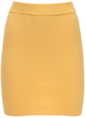 Bec & Bridge Lemon Squeezy Knit Mini Skirt