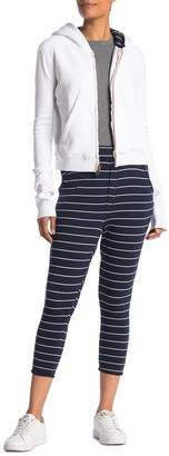 Frank And Eileen The Trouser Striped Crop Sweatpants