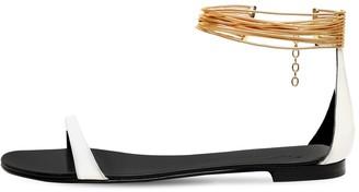 Giuseppe Zanotti 10mm Patent Leather Sandals