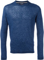 Woolrich plain sweater - men - Linen/Flax - S