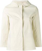 Herno concealed fastening blazer - women - Cotton/Polyurethane - 38