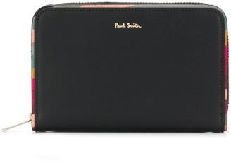 Paul Smith Logo-Plaque Zip Around Wallet