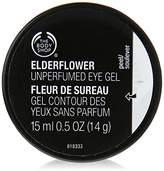 The Body Shop Elderflower Cooling Eye Gel, 100% Vegan, 0.5 Fl. Oz.