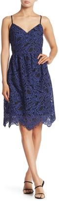 Sugar Lips Sleeveless Lace Dress