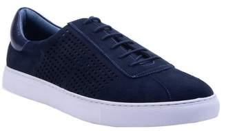 Robert Graham Anson Perforated Low Top Sneaker