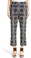 Zero Maria Cornejo Women's Eko Dot Block Print Crop Pants