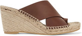 Vince Suraya leather espadrille wedge sandals
