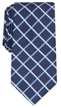 Club Room Men's Edward Grid Tie, Created for Macy's