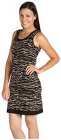 Mac & Jac Animal Jacquard Dress