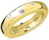 Thumbnail for your product : Sterling Forever 14K Gold Vermeil Sterling Silver Crystal Etoile Ring