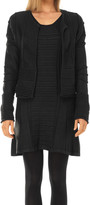 Max Studio Long Sleeved Textural Knitted Cardigan