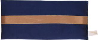 Holistic Silk Silk Dupion Lavender Eye Pillow Navy