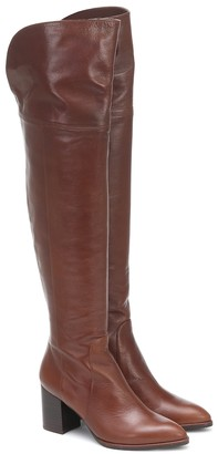 Stuart Weitzman Raylene leather over-the-knee boots