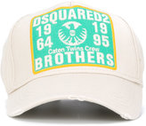 DSQUARED2 Brothers patch baseball cap - men - Cotton - One Size