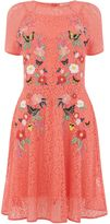 Oasis Cady Embroidered Dress