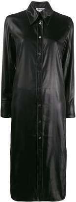 Acne Studios satin shirt dress