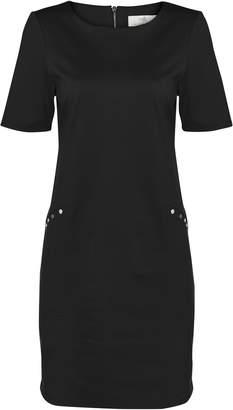 Wallis PETITE Black Studded Shift Dress