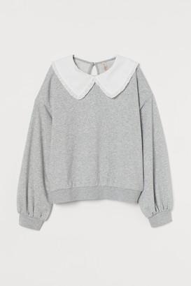 H&M Collared sweatshirt